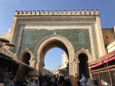 モロッコの青い空、10日間の旅 4日目