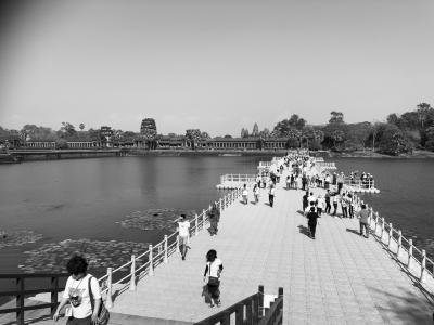 4回目のカンボジア旅行で初めてアンコールワット訪問しました