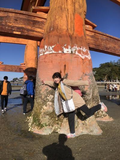 2019彼岸に広島1日目②安芸の宮島・あなごめしうえの・厳島神社・揚げもみじ