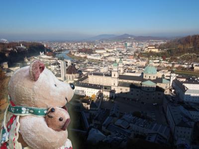 今度こそ癒されたい! バーデン&ザルツブルクひとり旅(8)雨が多い11月のザルツブルク。果たしてホーエンザルツブルク城からの眺めや、いかに