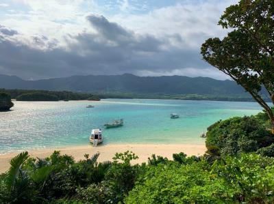 春の石垣島で週末旅。③~最終日にちょっとだけ晴れた川平湾と光楽園~