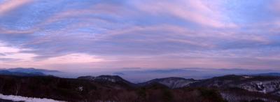 福島民家園そぞろ。高湯温泉天空の宿で感動。