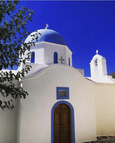 酷暑のギリシャ エーゲ海ホッピング&憧れのザキントス島《2》
