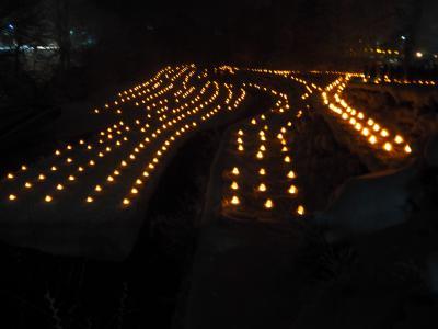 オッサンズ11が行った「湯西川温泉かまくら祭り」