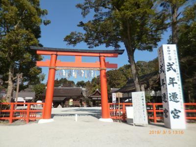 京都散策 ('19年3月)
