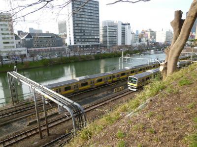 外濠公園遊歩道&K-キャビン 飯田橋 2019/03/19