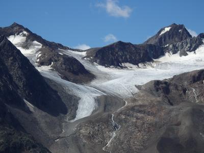 オーストリア・セルデン&ドイツ・ニュルンベルクとミュンヘンの旅【6】 (作成中)氷河を眺めながら山上ハイキング
