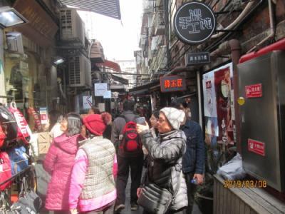 上海の泰康路・田子坊・3号門から5号門・2019年