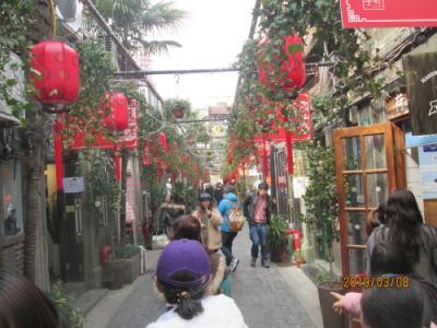 上海の泰康路・田子坊・2号門から突当り・2019年