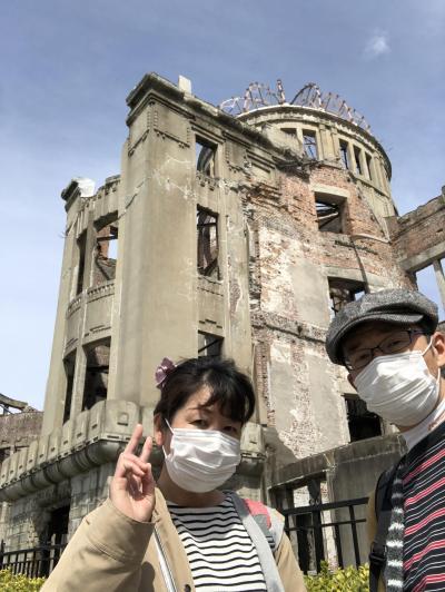 2019彼岸に広島2日目④平和記念資料館・原爆ドーム・広島城・お好み焼き