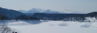 雪の大雪ダムへ