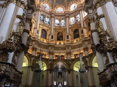 スペイン南部とポルトガル周遊③~グラナダ観光前半@NH Collection Granada Victoria