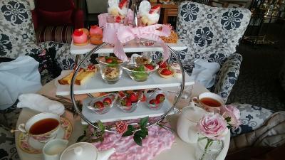 ホテル・ラ・スイート神戸ハーバーランドでアフタヌーンティーを楽しむ!