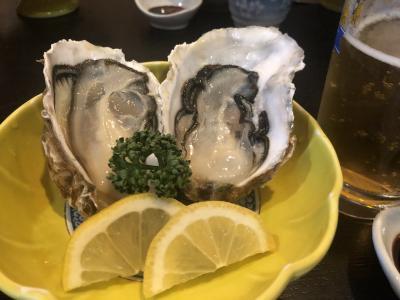 的矢牡蠣と温泉と絶品芋スイーツ