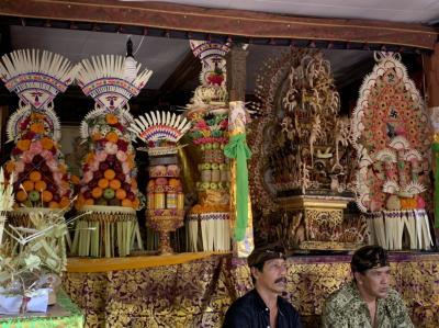 成人式の様なバリ島の儀式、ポトンギギ
