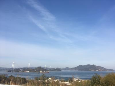 週末旅で今治、しまなみ海道へ。