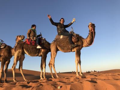 モロッコの青い空、10日間の旅 5日目