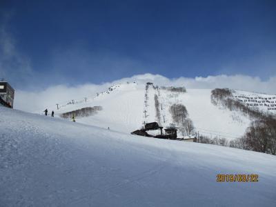 暖冬で雪の少ない八方尾根スキー場と白馬樅ノ木ホテルで2泊3日