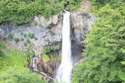 吹割の滝、華厳の滝經由つくばへ