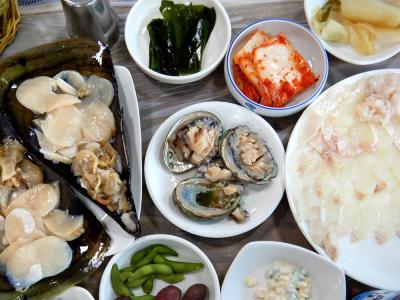 那覇ステーキ+釜山海鮮の旅