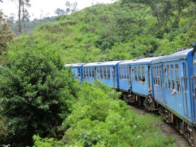 2018年 10月 スリランカ・ヌワラエリヤ キャンディからヌワラエリヤへ!大人気の列車の旅