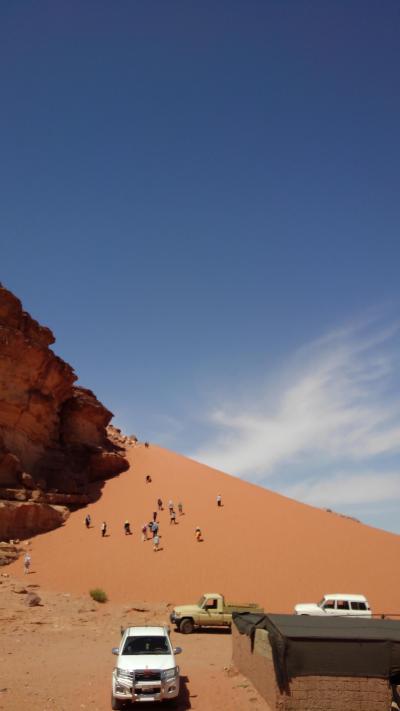 砂漠の遺跡と死海、ヨルダン紀行:その3 リトル・ペトラ遺跡とワディラム