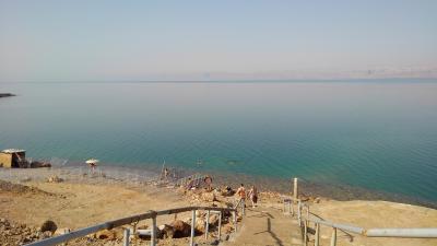 砂漠の遺跡と死海、ヨルダン紀行:その4 死海リゾート、ネボ山、聖ジョージ教会