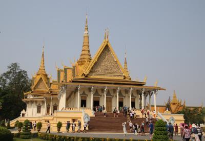 ANAビジネスクラス直行便で行くカンボジア1 プノンペン散策編