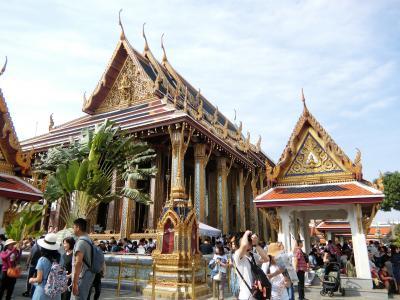 寒い時は温かい国に行こう!初めてのタイ旅行 バンコク編 4 エメラルド寺院(ワット・プラケオ)と王宮
