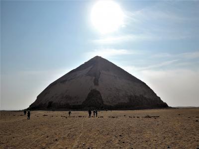 古代エジプト人に畏怖の念=神秘のエジプト・ナイル川クルーズ10日間 25 (ダハシュール1)