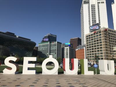 初めての一人旅韓国