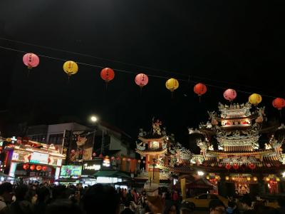 台湾ひとり旅(6)饒河街夜市へ