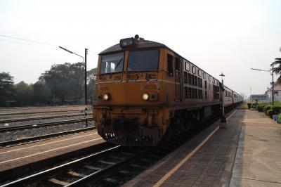 タイ国鉄の普通列車でスローな旅 復路