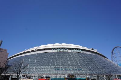 初めての東京ドームで平成最後のオープン戦観戦とストリングスホテル東京インターコンチネンタル宿泊