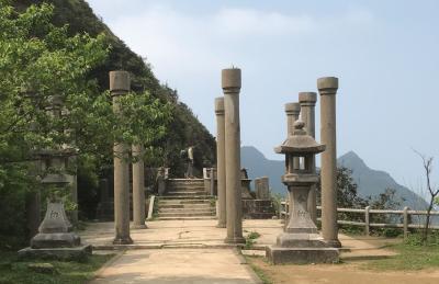 金瓜石の黄金神社跡と、桃園の爺亨棚田探訪