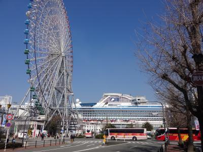 ダイヤモンドプリンセス再び♪ 1.前泊して大阪旅行
