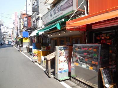 山手線で巡る海外旅行/上野のキムチ横丁とレトロなたたずまいの旅館街に行ってみました