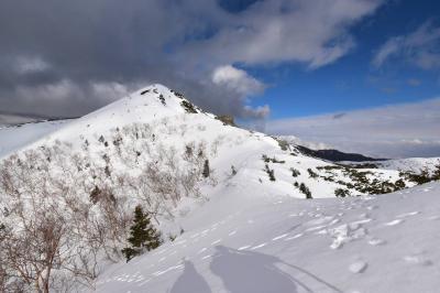 3月の南アルプス・烏帽子岳 雪山登山(三伏峠冬季小屋泊)