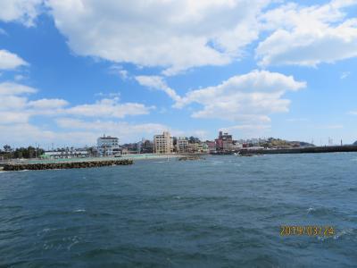 愛知県の島に初上陸ーやっぱり海はきれいだ。