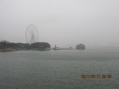 江南周遊(23)太湖公園を観光。