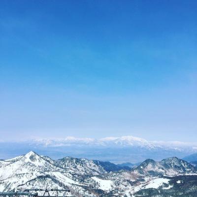 海外旅行だけでなく国内スキーも行くよ♪ 2019年3月・奥志賀高原&横手山の巻