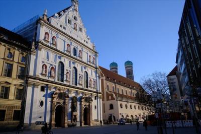 2019年02月ミュンヘン 月曜朝の街歩きと教会見学