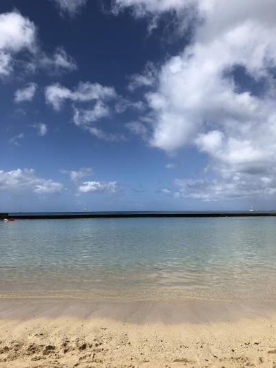 またまたハワイへ!母と娘(5歳)ひたすらビーチで遊ぶのんびりハワイ③