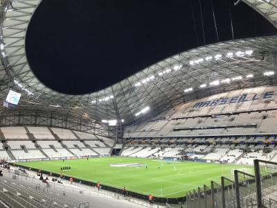 2018-19 欧州+中東旅 DAY8 →ロンドン→マルセイユ EL観戦 マルセイユvアポエル
