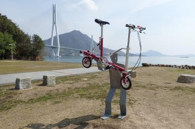 しまなみ海道の全区間をサイクリングの一日