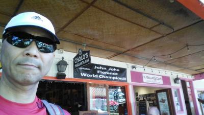 H29 お父ちゃん一人旅「ホノルルマラソンに出場しました」(2日目Vol.2 サーフNシー→チョロズ→コーヒーギャラリー)