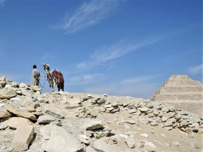 古代エジプト人に畏怖の念=神秘のエジプト・ナイル川クルーズ10日間 28(サッカラ)