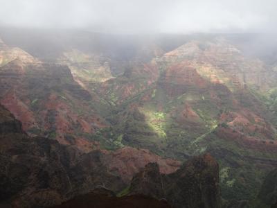 ハワイ旅 2日目 カウアイ島1日観光ツアー