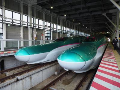 2019.03 鉄路で目指せ北海道!(4)北海道新幹線初乗車「はやて91号」北海道上陸!