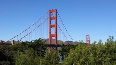 名古屋から北京経由でサンフランシスコへ
